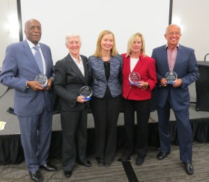 Honorees and Moore, ED