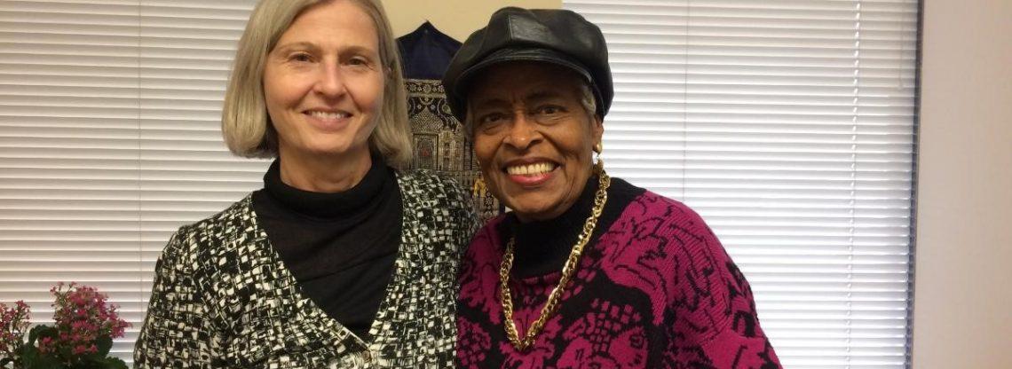 Linda Kerdolff and Norma Cousins
